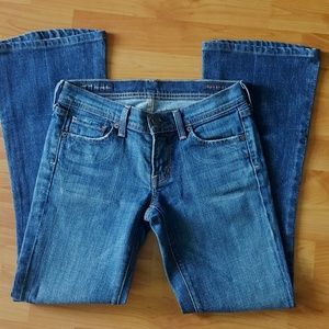 Citizens of Humanity Sz 25 Low Waist Flare Jeans
